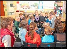Samtgemeindebürgermeisterin zu Besuch in der GS Wietzen©Die Harke / Busch