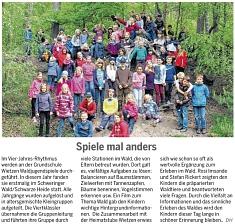 """Seite 27 aus """"Die Harke"""" am 3.6.2015©Die Harke"""
